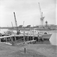 1954 North Boatyard and South Shipyard