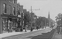 London Road North just prior to the 1914-18 war