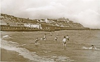Pakefield beach in the early 1950s